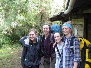 Camping at El Pahuma Orchid Reserve