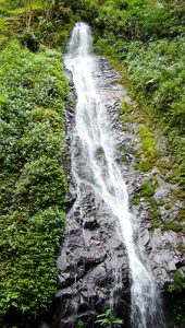 Pacaya waterfall at El Pahuma
